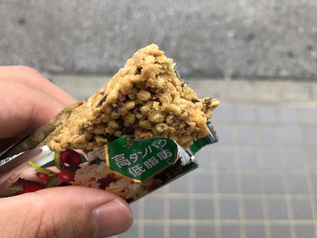 ウィダー in BAR(グラノーラ)実食