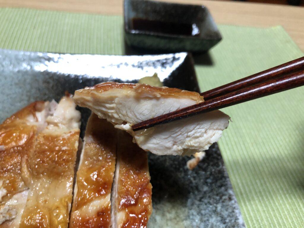 焼いた鶏むね肉